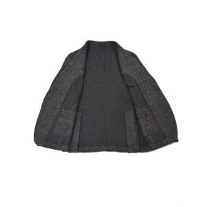 THE GIGI【ザ ジジ】シングルジャケット  VELVET G088 820 コットン ウール メランジ  ホワイト グレー|cinqueunaltro|03