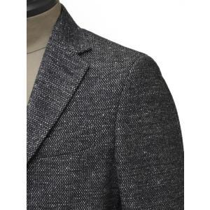 THE GIGI【ザ ジジ】シングルジャケット  VELVET G088 820 コットン ウール メランジ  ホワイト グレー|cinqueunaltro|04