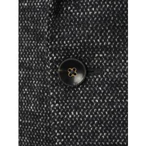THE GIGI【ザ ジジ】シングルジャケット  VELVET G088 820 コットン ウール メランジ  ホワイト グレー|cinqueunaltro|05