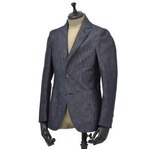 THE GIGI【ザ ジジ】シングルジャケット ANGIE H083 700 コットン デニム インディゴ|cinqueunaltro