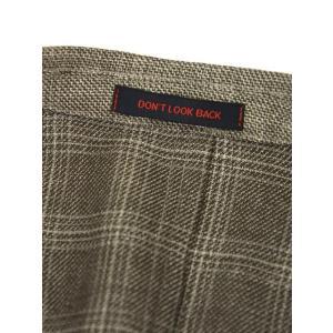 THE GIGI【ザ ジジ】シングルジャケット ANGIE H022 350 ウール リネン ポリウレタン チェック ベージュ|cinqueunaltro|07