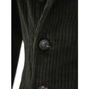 THE GIGI【ザ ジジ】ダブルジャケット ZIGGY J015 400 コットン ポリウレタン コーデュロイ ブラウン|cinqueunaltro|05