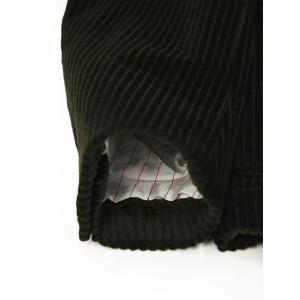 THE GIGI【ザ ジジ】ダブルジャケット ZIGGY J015 400 コットン ポリウレタン コーデュロイ ブラウン|cinqueunaltro|07