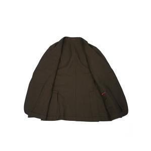 THE GIGI【ザ ジジ】シングルジャケット ANGIE+T K201 300 ウール リネン ブラウン|cinqueunaltro|03