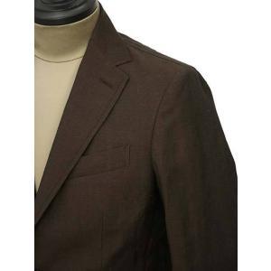 THE GIGI【ザ ジジ】シングルジャケット ANGIE+T K201 300 ウール リネン ブラウン|cinqueunaltro|04