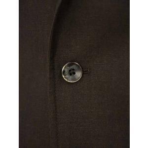 THE GIGI【ザ ジジ】シングルジャケット ANGIE+T K201 300 ウール リネン ブラウン|cinqueunaltro|05