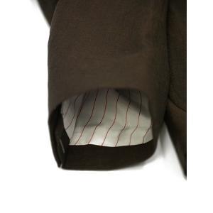 THE GIGI【ザ ジジ】シングルジャケット ANGIE+T K201 300 ウール リネン ブラウン|cinqueunaltro|06
