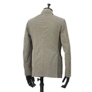 THE GIGI【ザ ジジ】シングルジャケット ART K601 200 コットン ギンガムチェック ブラウン ブラック|cinqueunaltro|02