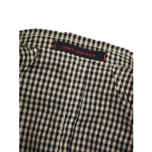THE GIGI【ザ ジジ】シングルジャケット ART K601 200 コットン ギンガムチェック ブラウン ブラック|cinqueunaltro|07