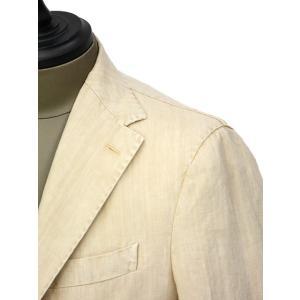 THE GIGI【ザ ジジ】シングルジャケット ART K603 200 リネン オフベージュ cinqueunaltro 04