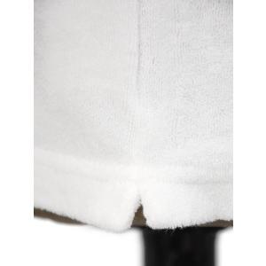 THE GIGI【ザ ジジ】スキッパーポロシャツ THAITI K819 101 コットン パイル ホワイト|cinqueunaltro|05