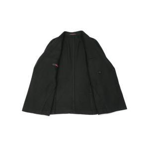 THE GIGI【ザ ジジ】ダブルジャケット ART629 L602 500 ウール ブラックウォッチ グリーン ブラック cinqueunaltro 03