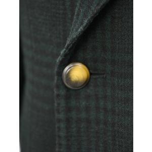 THE GIGI【ザ ジジ】ダブルジャケット ART629 L602 500 ウール ブラックウォッチ グリーン ブラック cinqueunaltro 05