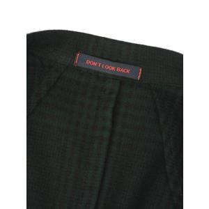THE GIGI【ザ ジジ】ダブルジャケット ART629 L602 500 ウール ブラックウォッチ グリーン ブラック cinqueunaltro 07