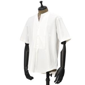THE GIGI【ザ ジジ】スタンドカラーシャツ SHEDIR SS-0 WHITE ナイロン ポリウレタンホワイト|cinqueunaltro