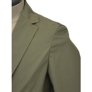 T-JACKET【ティージャケット】シングルジャケット 419-63210001 430  コットン  カーキ|cinqueunaltro|04