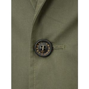 T-JACKET【ティージャケット】シングルジャケット 419-63210001 430  コットン  カーキ|cinqueunaltro|05