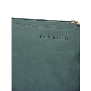 trakatan【トラカタン】クラッチバッグ TRK141 AVIO スムースレザー ブルーグレー|cinqueunaltro|07