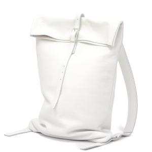 trakatan【トラカタン】バッグパック TRK301 BIANCO シュリンクレザー ホワイト|cinqueunaltro