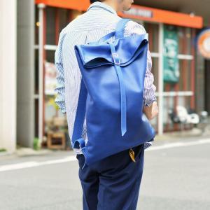trakatan【トラカタン】バッグパック TRK301 BLUETTE スムースレザー ブルー|cinqueunaltro|08