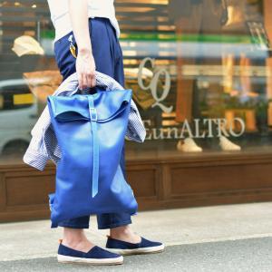 trakatan【トラカタン】バッグパック TRK301 BLUETTE スムースレザー ブルー|cinqueunaltro|09