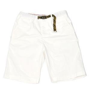 White Sand【ホワイトサンド】イージーショートパンツ  20SU5183 125 C01 コットン ホワイト|cinqueunaltro