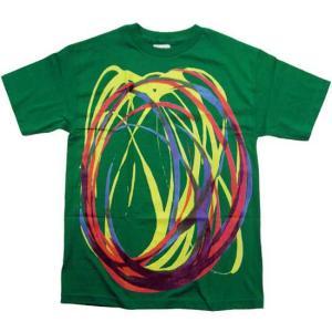 【SALE】ALIFE SWIRL S/S TEE Green エーライフ スウェロー S/S Tシャツ グリーン|cio