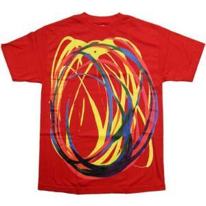 【SALE】ALIFE SWIRL S/S TEE Red エーライフ スウェロー S/S Tシャツ レッド|cio