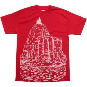 【SALE】エーライフ ドクターリボルト 2 S/S Tシャツ レッド ALIFE Dr.Revolt 2 S/S TEE Red|cio
