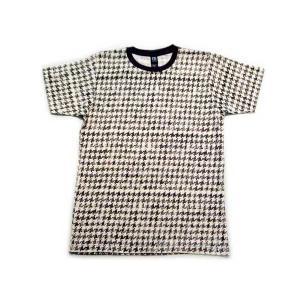 【SALE】オルタネイティブ S/S Tシャツ 千鳥格子 Alternative Cidori S/S TEE HOUNDSTOOTH cio