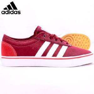 アディダス シューズ スケートボーディング アディイーズ カーディナル スカーレット ガム adidas Shoes Skateboarding Adi Ease Cardinal Scarlet Gum|cio