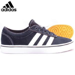 アディダス シューズ スケートボーディング アディイーズ ブラック ホワイト ブラック adidas Shoes Skateboarding Adi Ease Black White Black|cio