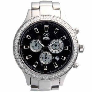 アクアマスター リオ プロフェッショナル クロノグラフ ダイヤモンド ウォッチ 11-3w #140 ブラック AQUA MASTER Rio Professional CHRONOGRAPH Diamond Watch|cio
