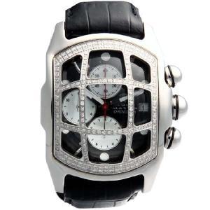 アクアマスター バブル ループ クロノグラフ グリットダイヤモンド ウォッチ 31-5W #30 ブラック AQUA MASTER Bubble Loop CHRONOGRAPH Grit Diamond Watch|cio