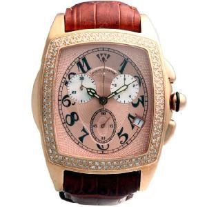 アクアマスター ジェソン クロノグラフ ダイヤモンド ウォッチ 20-4W #53P ピンクAQUA MASTER JASON CHRONOGRAPH Diamond Watch 20-4W #53P Pink|cio