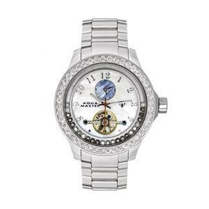 アクアマスター ビリオン ダイヤモンド ウォッチ シルバー ホワイト w#99-1 AQUA MASTER Billion Diamond Watch Silver White w#99-1|cio