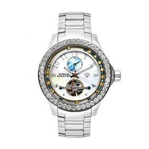 アクアマスター ビリオン ダイヤモンド ウォッチ シルバー ホワイト w#99-2 AQUA MASTER Billion Diamond Watch Silver White w#99-2|cio