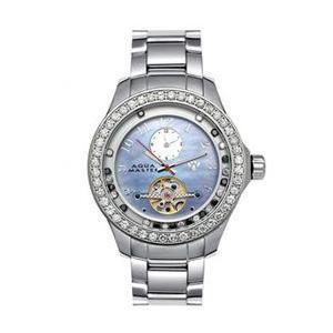 アクアマスター ビリオン ダイヤモンド ウォッチ シルバー ブルー w#99-4 AQUA MASTER Billion Diamond Watch Silver Blue w#99-4|cio