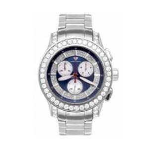 アクアマスター マスターピース クロノグラフ ダイヤモンド ウォッチ シルバー ブルー w#100-2 AQUA MASTER Masterpiece CHRONOGRAPH Diamond Watch w#100-2|cio