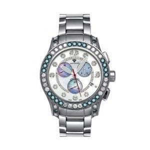 アクアマスター マスターピース クロノグラフ ダイヤモンド ウォッチ シルバー ホワイト w#100-4 AQUA MASTER Masterpiece CHRONOGRAPH Diamond Watch w#100-4|cio