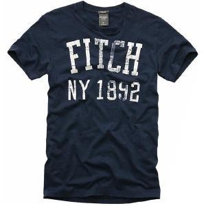 アバクロンビー アンド フィッチ(アバクロ)ビッグスライド マウンテン 2039H S/S Tシャツ ネイビー Abercrombie&Fitch Big Slide Mountain S/S TEE Navy|cio