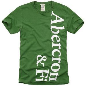 アバクロンビー アンド フィッチ(アバクロ) メンズ オーエン ポンド 2034H S/S Tシャツグリーン Abercrombie&Fitch Mens Owen Pond 2034H S/S TEE Green|cio