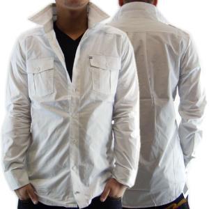 AKOO(A King Of Oneself) VULPINI WOVEN L/S Shirt Bright White エーケーオーオー バルピーニ ウーブン L/S シャツ ブライトホワイト|cio