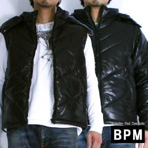 バチェロラ パッド マウンテン (ビーピーエム) 中綿フェイクファー フード付 ジャケット ブラック Bachelor Pad Mountain (BPM) Fake Farr Inner cotton jacket|cio