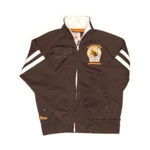 Buffalo Denim Track Jacket Brown バッファローデニム トラック ジャケット ブラウン|cio