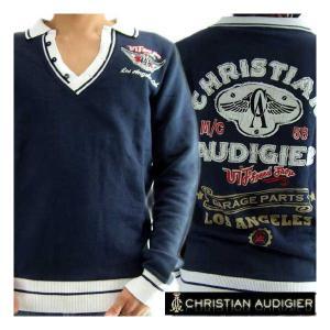 【SALE】クリスチャンオードジェー L/S ポロシャツ ロサンゼルス ウィングス 58 ネイビー Christian AudigiercmVI163LAW L.A. Wings 58 Navy|cio