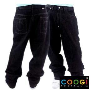 【SALE】COOGI White Stitch Denim Pants クージー ホワイトステッチ デニムパンツ|cio