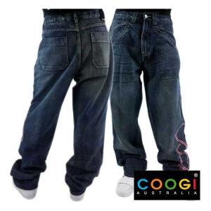 【SALE】COOGI Red Logo Denim Pants クージー レッドロゴ デニムパンツ|cio