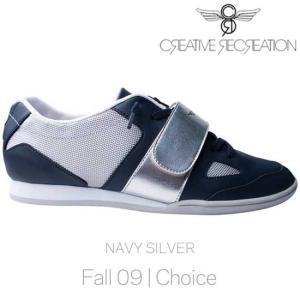 【SALE】クリエイティブ レクリエーション マッシーモ チョイス ネイビー/シルバー Creative Recreation CR8 CR11839 MASSINO Choice Navy/Silver|cio