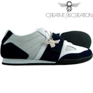 【SALE】クリエイティブレクリエーション  マッシーノ チョイス シルバー/ホワイト/ネイビー Creative Recreation Massino Choice Silver White Navy|cio